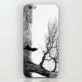Breathing cold wind iPhone Skin