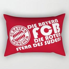 Slogan: Bayern Munchen Rectangular Pillow