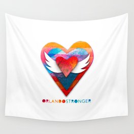 Orlando Stronger Wall Tapestry