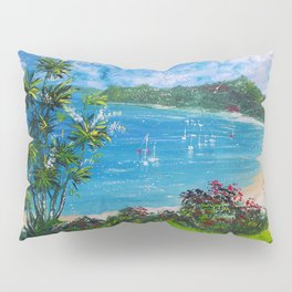 Sunny Bay - I love New Zealand Summers Pillow Sham
