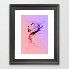 Headflux Framed Art Print