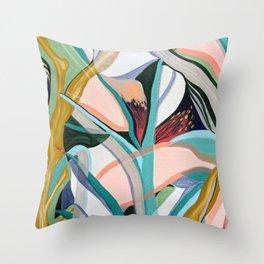 Botanical Paradise Throw Pillow
