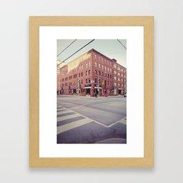Studio City Framed Art Print