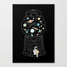 My Childhood Universe 2 Canvas Print
