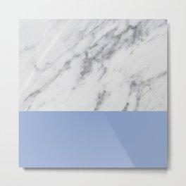 Serenity Marble Metal Print
