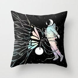 Caught in the Moment (A Memory Encounter) Throw Pillow