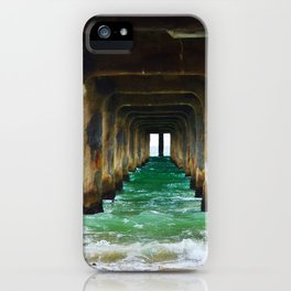 Manhattan Beach Pier iPhone Case