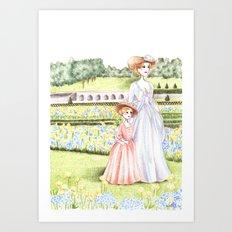 Marie Antoinette (2) Art Print