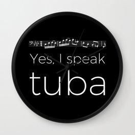 Yes, I speak tuba Wall Clock