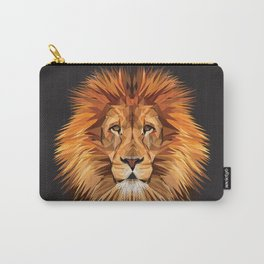 Lion Triangle Carry-All Pouch