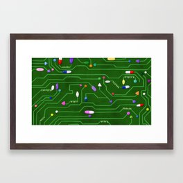 Future of Medicine Framed Art Print