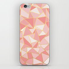 Ab Out Blush Gold iPhone Skin
