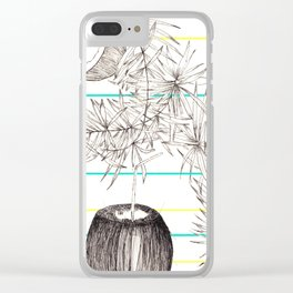 Coconuts summer Clear iPhone Case