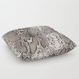 Snake Skin Floor Pillow
