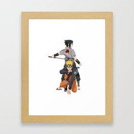 Fan Art Naruto Anime Framed Art Print