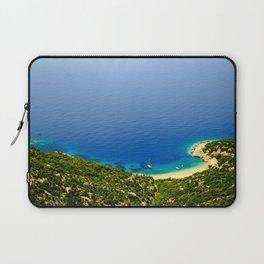 Beautiful beach Lubenice Laptop Sleeve
