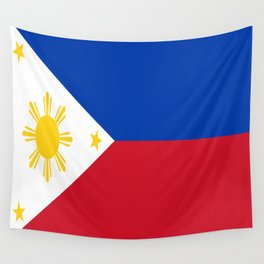 Philippines Flag Wall Tapestry