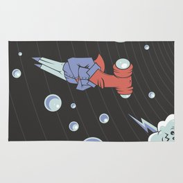 Sharkbait: A Journey Through Time and Space Rug