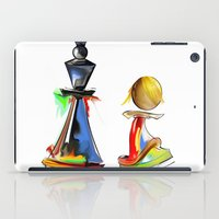chess iPad Cases featuring chess by tatiana-teni