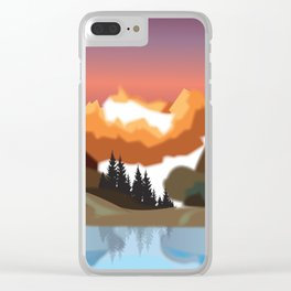 My Nature Collection No. 68 Clear iPhone Case