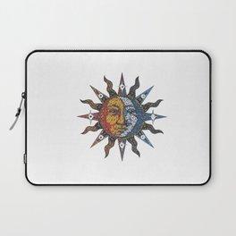 Celestial Mosaic Sun/Moon Laptop Sleeve