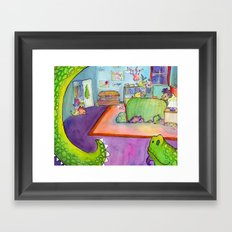 Bumps in the Night Framed Art Print