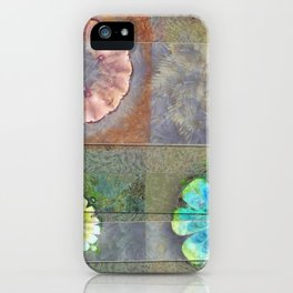 Fast Actuality Flower  ID:16165-084338-75791 iPhone Case
