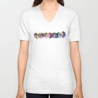 xmen V-neck T-shirts featuring xmen by thev clothing