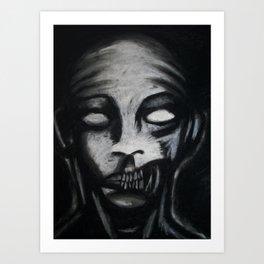 Cannibal Assasin Art Print