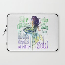 Mermaid : Profound Depths Laptop Sleeve