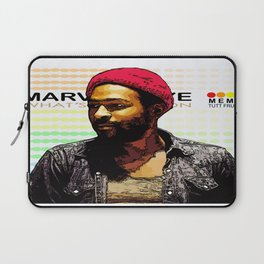 """WHAT'S GOING ON"" Laptop Sleeve"