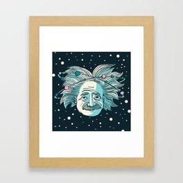 Relatively Einstein (March 21st, 1916) Framed Art Print