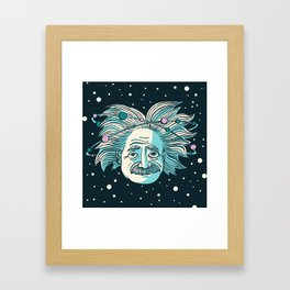 Relatively Einstein (March 21st, 1916) Framed Art Print
