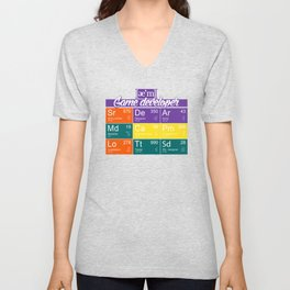 ae'm Game developer Unisex V-Neck
