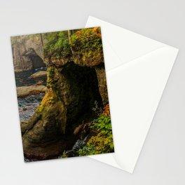 Sea Caves, Cape Flattery, Olympic Peninsula, Washington Stationery Cards