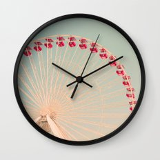 The Great White Wall Clock