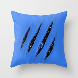 CLAWS Throw Pillow