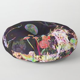 Colorful Night Floor Pillow