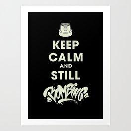 Keep Bombing Art Print