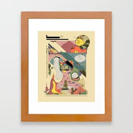 RPG (Adventure for Two) Framed Art Print