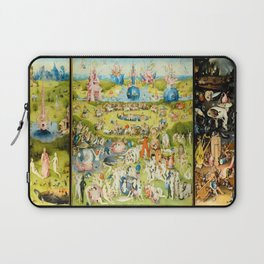 The Garden of Earthly Delights by Bosch Laptop Sleeve