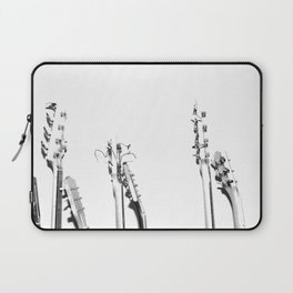 The Guitars (Black and White) Laptop Sleeve