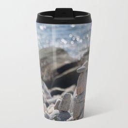 Balancing Serenity Rocks Travel Mug