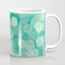 Green Bokeh Coffee Mug