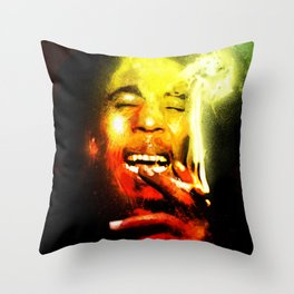Jah is Mighty Throw Pillow