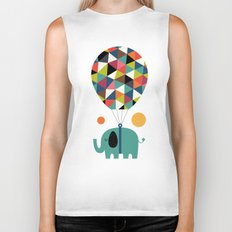 Fly High And Dream Big Biker Tank