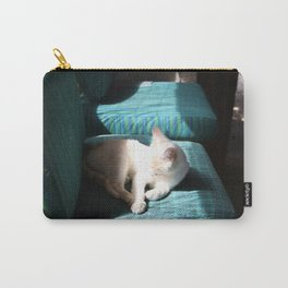 Cat In The Sun Carry-All Pouch
