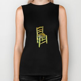 One Chair - Van Gogh Biker Tank