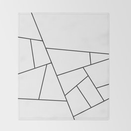Modern Geometric 57 Throw Blanket