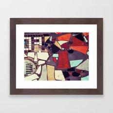 Colorful Abstract Mosaic No.1 Framed Art Print